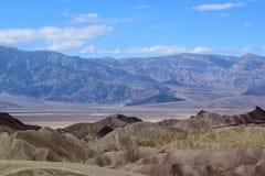 Death Valley - пункт Zabriskie стоковые фотографии rf