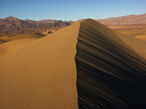 Death Valley Arkivbild