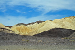Death Valley. Mountains at Death Valley National Park looking like chocolate and vanilla Stock Images