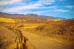 Death Valley. View into Death Valley California Stock Images
