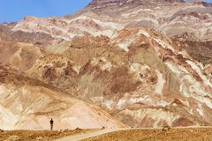 Death Valley Photographie stock libre de droits