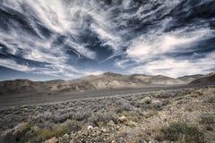 Death Valley Royaltyfria Foton