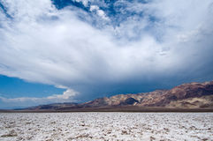 Death Valley Arkivbild