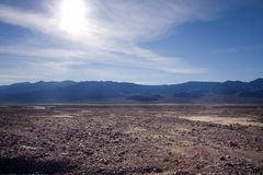 Death Valley. Is a desert located in California. It is the lowest, driest and hottest valley in the United States royalty free stock photography