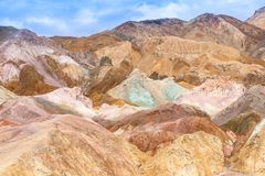 Death Valley, Artist's Palette royalty free stock photography