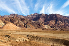 Death Valley. This is Artist Drive in Death Valley Royalty Free Stock Image