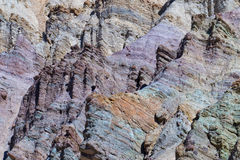 Death valley artist point natural art Royalty Free Stock Image