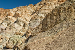 Death valley artist point natural art Royalty Free Stock Photo
