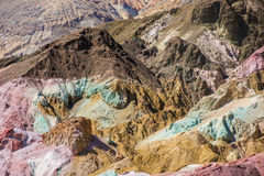 Death Valley - Artists Palette Royalty Free Stock Photos