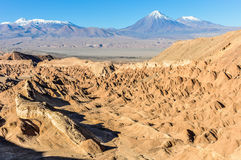 Death Valley in the Atacama Desert, Chile Stock Photography
