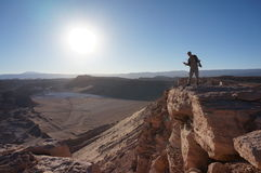 Death Valley, Atacama-Wüste, Chile Lizenzfreie Stockfotografie