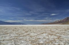 Death Valley - Bad Water Basin Royalty Free Stock Photography