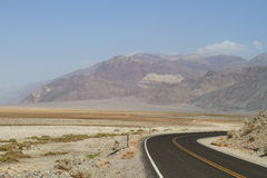 USA, CA/Death Valley: Badwater Basin Royalty Free Stock Photos