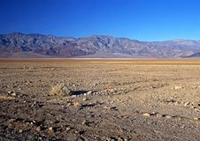 Death Valley Basin, California, USA. Royalty Free Stock Images
