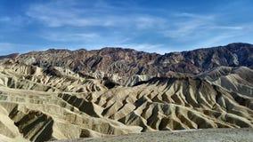 Death Valley berg Fotografering för Bildbyråer