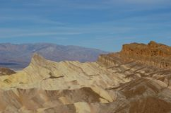 Death Valley Blue Skies royalty free stock photo