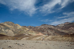 Death valley. In bright sunny day Royalty Free Stock Photography
