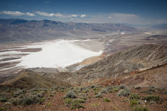 Death valley. In bright sunny day Stock Image