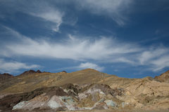 Death valley. In bright sunny day Royalty Free Stock Photo