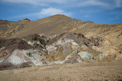 Death valley. In bright sunny day Stock Photo