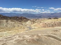 Death valley, CA, USA Stock Photography