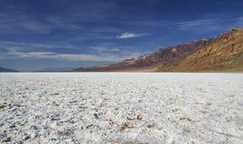 Death Valley - cattivo bacino dell'acqua Fotografie Stock