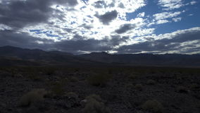 Death valley clouds. Video of death valley clouds stock footage