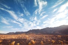 Death valley. National Park, California Stock Images