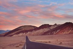 Death valley. National Park, California Stock Image
