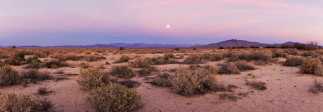 Death Valley an der Dämmerung stockfoto