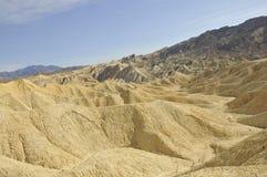 Death Valley Desert Landscape. Barren Desert Landscape Along Golden Canyon Trail in Death Valley, California Stock Images