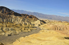 Death Valley Desert Landscape 3 Stock Photography
