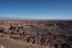 Death Valley, desierto de Atacama, Chile foto de archivo libre de regalías