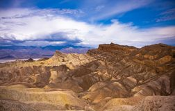 Death Valley Desolated Scenery Stock Photography