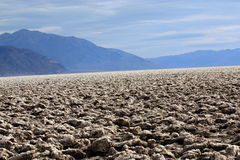Death Valley Devil`s Golf Course Royalty Free Stock Images
