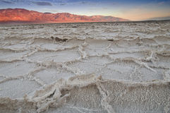 Death Valley drought salt lake Stock Photos