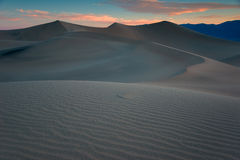 Death Valley Dunes, Morning. Stock Photos