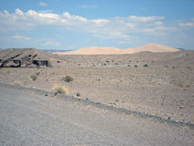 Death Valley Dunes Royalty Free Stock Photography