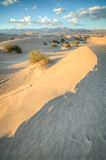 Death Valley dunes in sunset light Royalty Free Stock Images