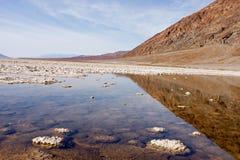 Death Valley e riflessione il marzo 1308 _3687-SF-ER1 Fotografia Stock Libera da Diritti
