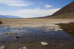 Death Valley em Califórnia Foto de Stock Royalty Free