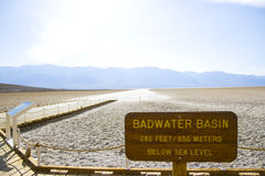 Death Valley em Califórnia imagem de stock royalty free