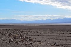 Death Valley - Endless Desert stock photography