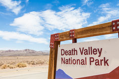 Death Valley Entrance Royalty Free Stock Photography
