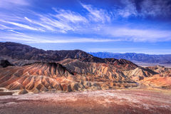 Death Valley Etats-Unis Photos stock