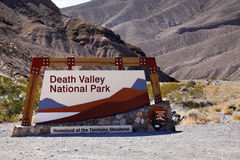 Death Valley Gate Royalty Free Stock Image