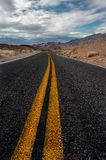 Death valley Highway Royalty Free Stock Images