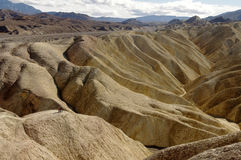 Death Valley Hills Stock Photography