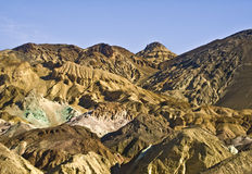 Death Valley - Hills Of Artist Palette Royalty Free Stock Photos