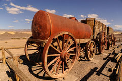 Death Valley, historic twenty-mule team wagons Royalty Free Stock Image